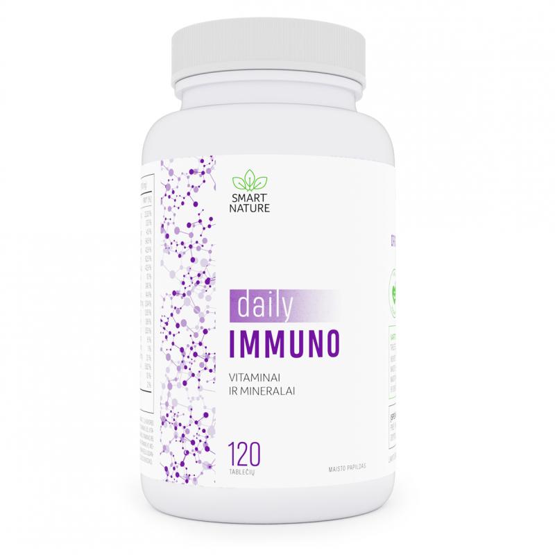 Daily Immuno - vitaminai ir mineralai