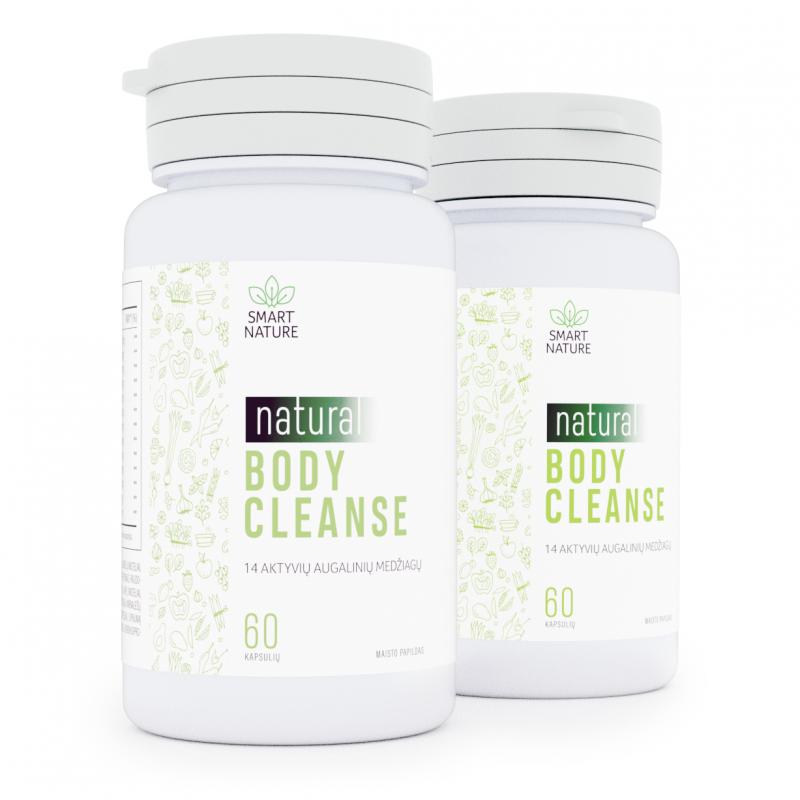 Natural Body Cleanse - 14 aktyvių augalinių medžiagų natūraliam žarnyno valymui ir lieknėjimui