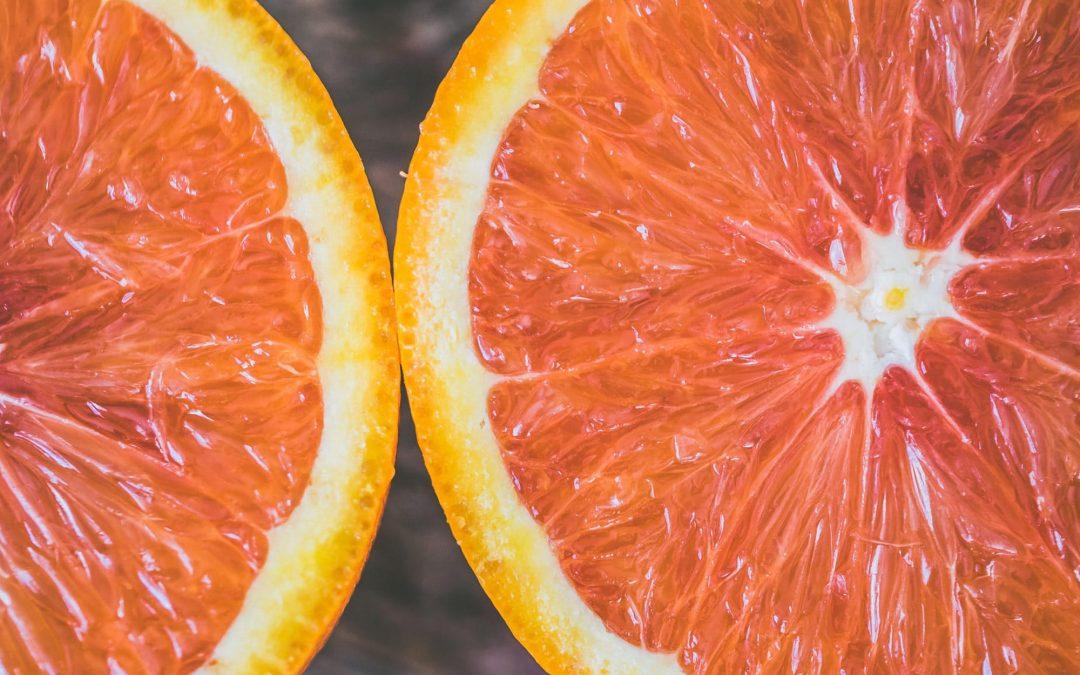 Gaivus ir nekaloringas apelsinų desertas