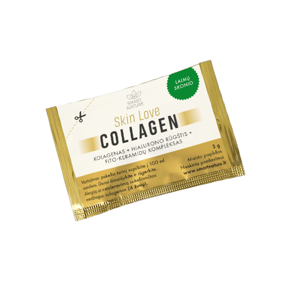 Kolagenas odai SKIN LOVE Collagen | Mėginukas | Smart Nature