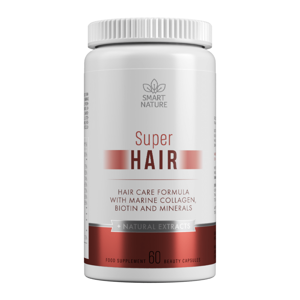 Vitaminai plaukams SUPER HAIR | Smart Nature